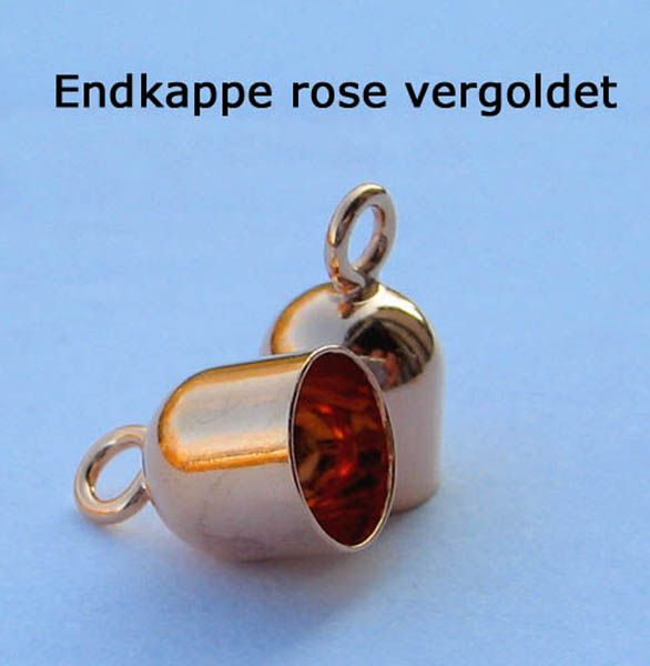 925 rose vergoldet