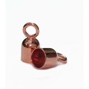 Endkappen rosegold Ø 2,5 mm innen Schmuckzubehör