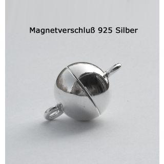 Magnetverschluss 925 Silber Kettenverschluss