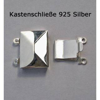 Kastenschloß Kastenschließe 925 Silber
