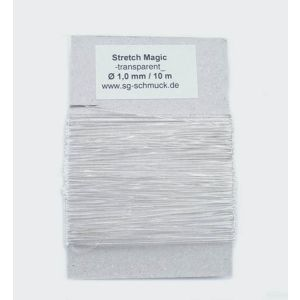 Stretch Magic 10 m Ø 1 mm elastik Faden