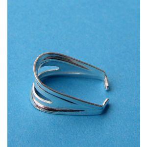 Edelsteinhalter Edelsteinschlaufe 925 Silber