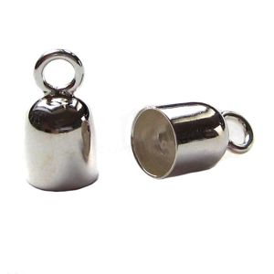 1 Paar Endkappen 925 Silber Ø 5,40 mm innen
