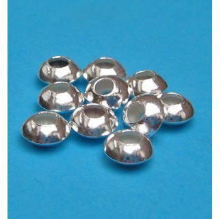 Linsen Ø 5,5 mm 925 Silber Zwischenteile Schmuckzubehör