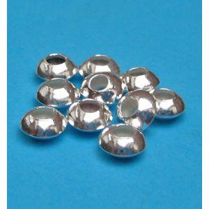 Linsen Ø 5,5 mm 925 Silber Zwischenteile...