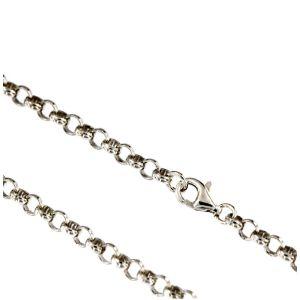 Silberketten III 3,8 mm 925 Silber 40 cm bis 90 cm Erbskette