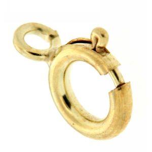 Gold 14 Karat Federring Ø 5 mm Gelbgold