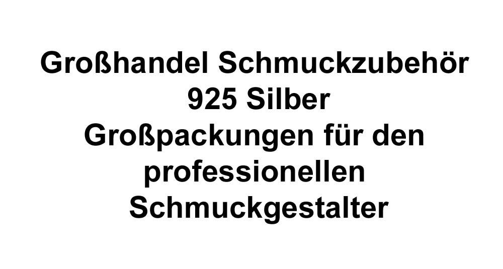 Grosshandel Schmuckzubehör 925 Silner
