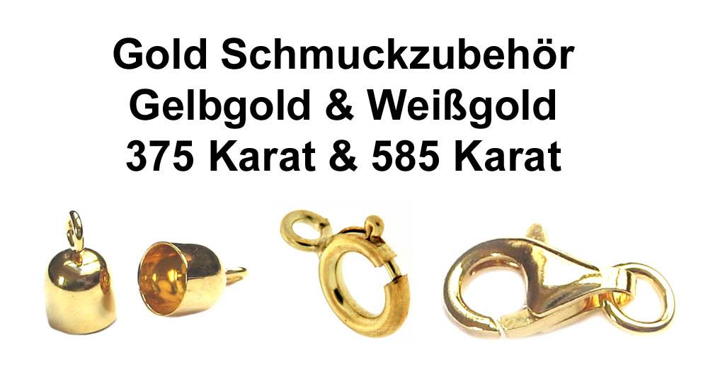 Gold Schmuckzubehör